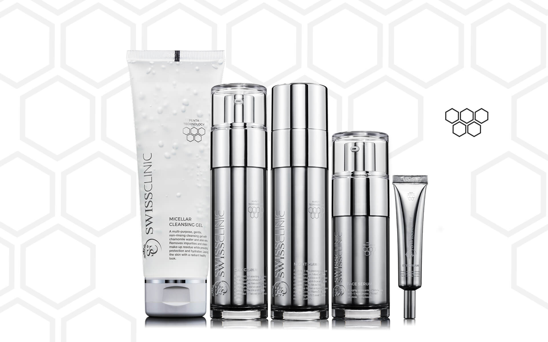 Meet the PENTA Skin Care Range.